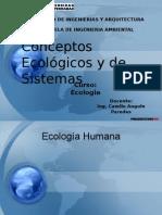 Conceptos Ecologicos y de Sistemas