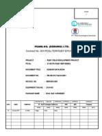 Vendor Data Book Template 213-V-03