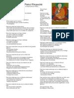 Carta de Patrul Rinpoché