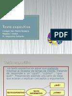 TEXTO EXPOSITIVO REPASO 2015.ppt
