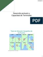 Desarrollo Portuario y Capacidad de Terminales