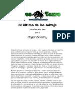Zelazny, Roger - El Ultimo de Los Salvajes