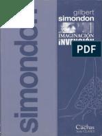 Simondon - Imaginación e Invención (Curso 1965-1966)