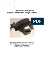 Final Manufacturing Lab Report