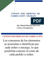 Costeo Por Ordenes de Fabricacion Trabajo Clase 7 15478