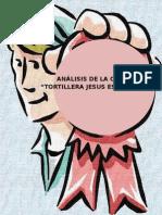 Proyecto Control estadistico y de calidad en una  Tortilleria