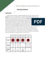 bloodtypetestinglab
