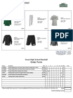 2015 Dover Baseball Clothing