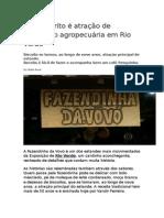 Biscoito Frito é Atração de Exposição Agropecuária Em Rio Verde