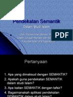 pendekatan semantik baru