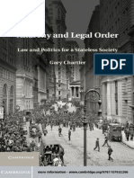 Cambridge University Press Anarchy and Legal Order, Law and Politics for a Stateless Society (2013)