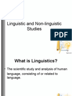 linguistics vs non-linguistics.ppt