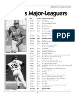 ASU's Major Leaguers - Sun Devil Baseball 2002