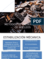 Metodos de Preservación de Nucleos