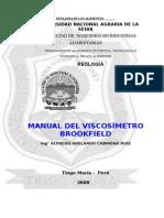 Manual de Viscosimetro Brookfield