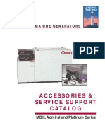 Onan Marine Accessories Catalog