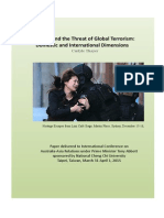 Thayer Australia and the Threat of Global Terrorism