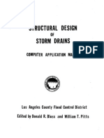 Structural Design of Storm Drains
