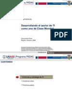 Plan de Negocios Software y TI