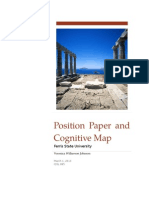 wilker idsl 885 position paper and cognitive map