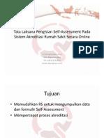 Tata Laksana Self Assessment Secara Online - Diyurman Gea, SKom, MM