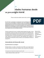 Dialnet-Las Necesidades Humanas Desde La Psicologia Moral