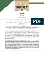 REPRODUCCIÓN DE HALCONES PEREGRINOS SUDAMERICANOS (Falco peregrinus cassini) EN ACANTILADOS MARÍTIMOS DE LA PATAGONIA, ARGENTINA