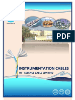 Instrumentation Cables Specifcation