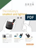 Mobile Printer SPP-R210 Bixolon
