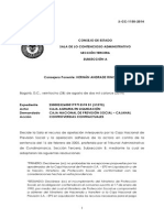 Sentencia Contratacion Estatal REGISTRO PRESUPUESTAL