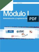 Modulo 1_administracion y Legislacion Educativa