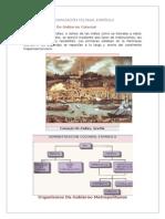 Organización Política Colonial Española
