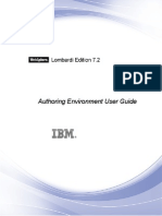WebSphere Lombardi Edition-7.2.0-Authoring Environment User Guide