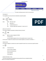 Conveyor Belt Equations