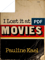 I Lost It at the Movies (Pauline Kael)