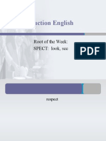 Deconstructing English - SPECT1