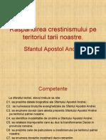 a Crestinismului in Spatiul Carpato-danubiano-pontic