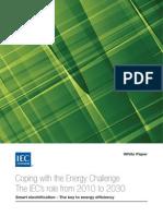 Energy Challenge - IEC White Paper