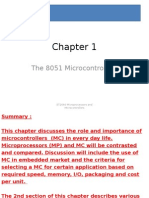 Microcontrollers Chapter 1 Slides