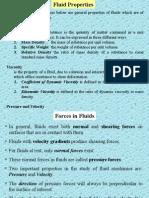 Properties Fluid Statics