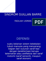 Sindrom Guillan Barre