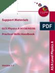 As a 2 Physics Practical Handbook