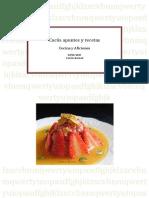 Cucús, apuntes y recetas