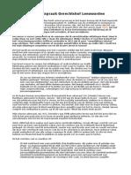 Artikel Achmea Gate - Uitspraak Gerechtshof Leeuwarden