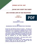Tariff and Customs Code Book 2
