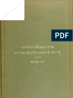 (1912) Uniform Regulations