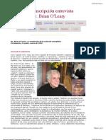 Proyecto Camelot | Transcripción Brian O'Leary