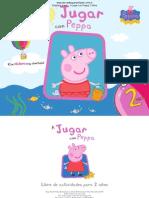 Primeras Paginas Jugar Peppa Libro Actividades Para 2 Nos
