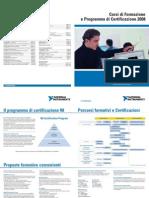 Brochure Corsi di Formazione NI Italy