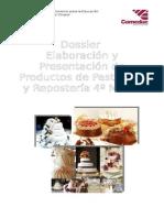elaboracion y presentacion de productos de pasteleria